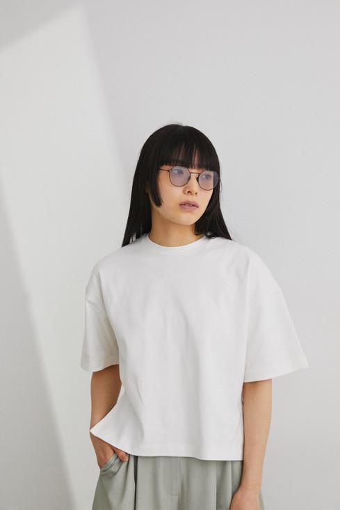 Organic cotton スリットT