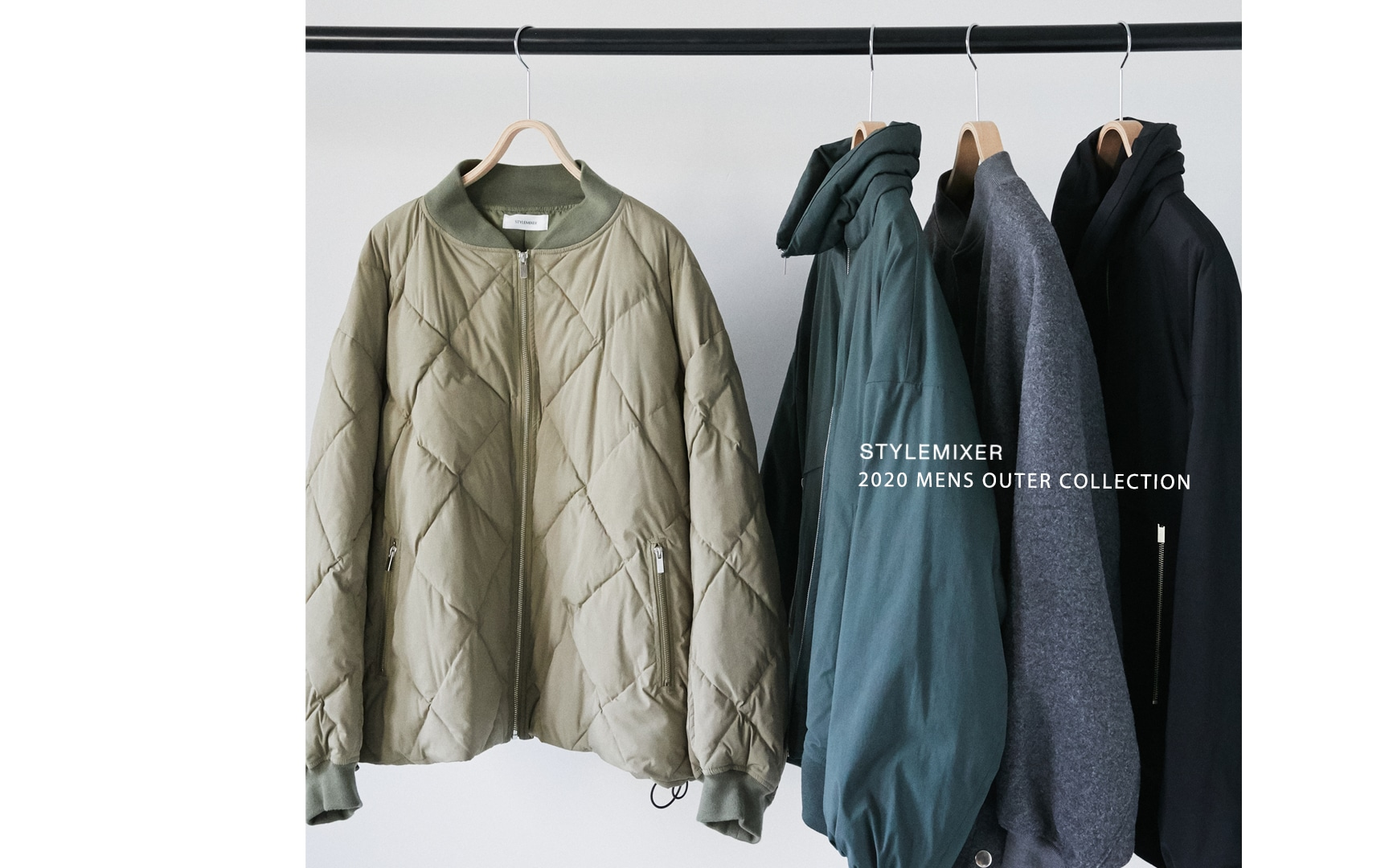 20AW MENS OUTER COLLECTION